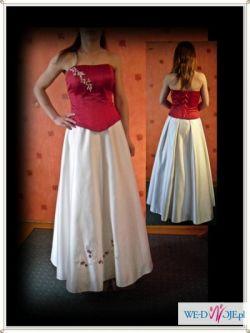 suknia ślubna +  dodatki - wszystko tanio