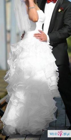 Suknia ślubna Dolores krótki przód