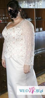 Suknia ślubna DUŻY ROZMIAR!!