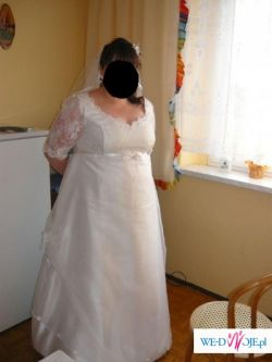 Suknia Ślubna, duży rozmiar