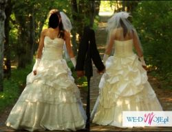 Suknia ślubna dwuczęściowa