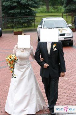 Suknia ślubna ecri roz. 38