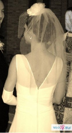 Suknia ślubna - ecru
