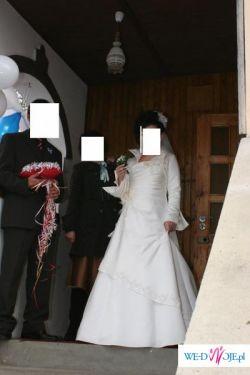 Suknia ślubna, ecru 38
