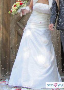 Suknia Ślubna ecru 40-42