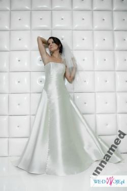 34e1b7edec Suknia ślubna ecru