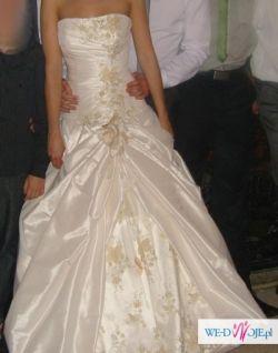 Suknia ślubna ecru Anabelle Stokrotes 2010