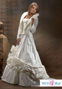 Suknia ślubna ecru model Kareen 7204