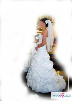 Suknia Ślubna, ecru, rozm 36