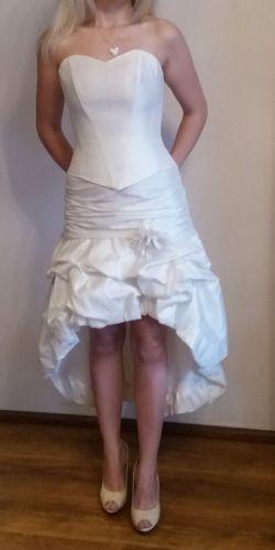 Suknia ślubna ecru S/M
