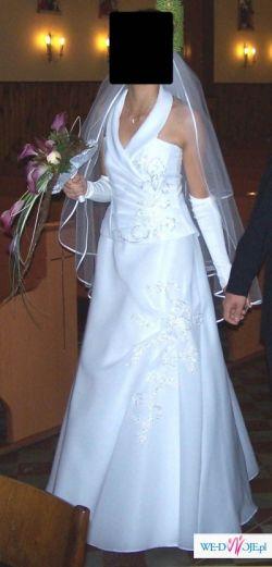 Suknia Ślubna efektowna i elegancka