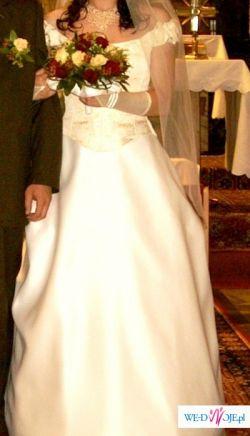 Suknia ślubna Emelie Costa-sprzedam