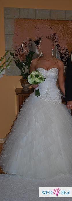 Suknia Ślubna EMMI MARIAGE MEGAN – Kolekcja 2010