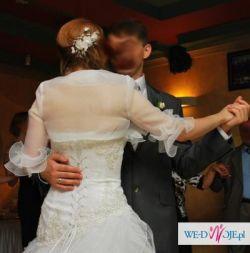 Suknia ślubna Emmi Mariage - MEGAN (kolekcja 2010)+bolerko+welon