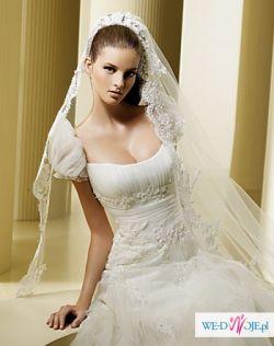 Suknia ślubna FAISAN z kolekcji La Sposa