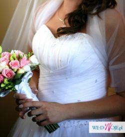 Suknia ślubna- fason Princessa