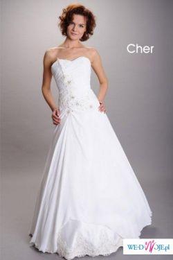 suknia ślubna firmy AFRODYTA model CHER