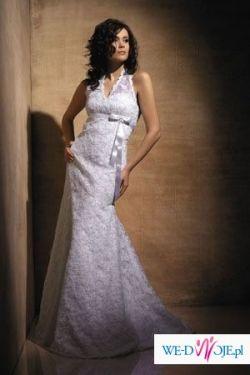 Suknia ślubna firmy AGNES, model 1621A z kolekcji 2007