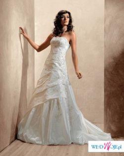 Suknia ślubna firmy Agnes plus dodatki!