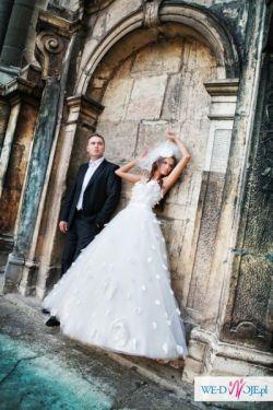 suknia ślubna firmy Cymbeline z najnowszej kolekcji