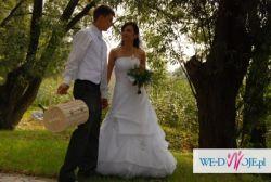 Suknia Ślubna firmy DUBER