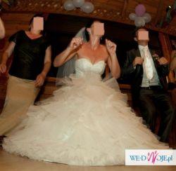 Suknia ślubna firmy EMMI MARIAGE - model Kenzo (kolekcja 2010)