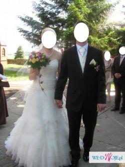 Suknia ślubna firmy Flossmann
