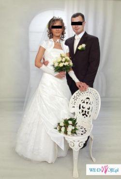 Suknia ślubna firmy Gala-model WIKI z kolekcji 2007