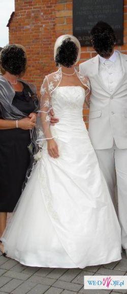 Suknia ślubna firmy Gala (r. 36)+gratisy 600 zł