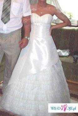 suknia ślubna firmy happy day