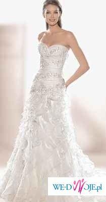 Suknia ślubna firmy MADONNA model 1843 kolekcja atalier diagonal 2009