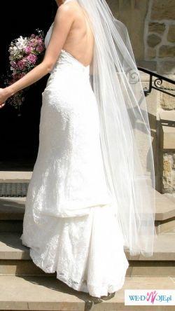 suknia ślubna firmy MARIEES DE PARIS (kolekcja 2007)