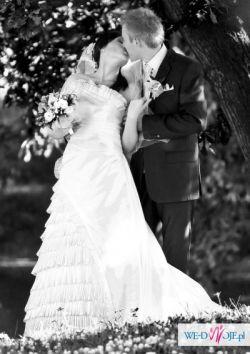 Suknia ślubna firmy MARIEES DE PARIS model HANAN salon CYMBELINE