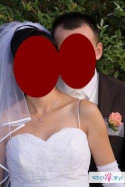 Suknia ślubna firmy Paryżanka