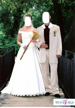 Suknia ślubna firmy POLSANTA