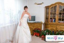 Suknia Ślubna Firmy Pronovias PIĘKNA!!!!!!!!!!!!!1