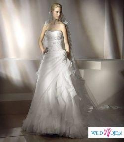 c6e2aeebff suknia ślubna firmy San Patrick model Petunia - Suknie ślubne ...