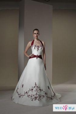 Suknia ślubna firmy sincerity, niepowtarzalna.