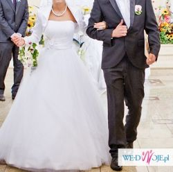 Suknia ślubna firmy Verise Bridal + Gratisy...