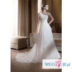 Suknia ślubna florinda z kolekcji pronovias 2011