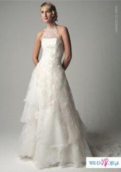 Suknia ślubna francuska