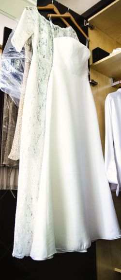 Suknia Ślubna GALA koronkowa 38