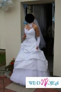 Suknia Slubna GALAXY, model 2008, rozmiar 38