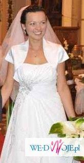 suknia slubna gina - ms moda 2010 - rozmiar 38