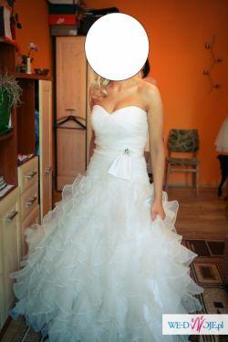 Suknia ślubna gorąco polecam!