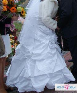 Suknia ślubna  gorset+spódnica