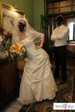 suknia ślubna + gratisy TANIO!!!