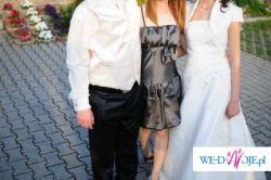 Suknia ślubna GRETA 2009 z cekinami Svarowskiego