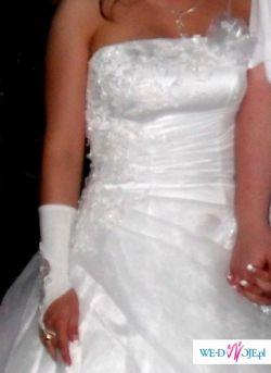 Suknia ślubna Herbe z kolekcji Anny Skrzyszowskiej