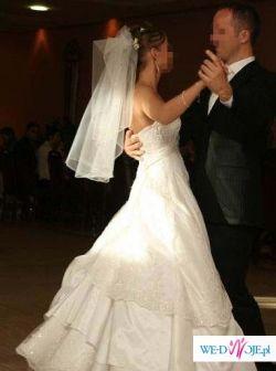 Suknia ślubna HERM'S KIVOR rozmiar 36-38 GRATISY!